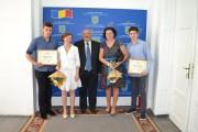 Prefectul Clujului, întâlnire cu elevii clujeni care au luat nota 10 la Bacalaureat