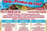Prima ediție a Târgului Produs de Cluj la Mediaş