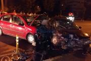 FOTO/VIDEO - Șofer beat, din Băișoara, accident în Grigorescu! Cine este și cât a băut