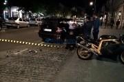 UPDATE - FOTO/VIDEO - Accident violent între un autoturism și o motocicletă, pe Bulevardul Eroilor
