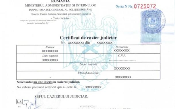 O nouă avarie la Sistemul Informatic al Cazierului Judiciar Român ROCRIS