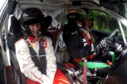 VIDEO - Handbalista Cristina Laslo, copilotul lui Marco Tempestini la Transilvania Rally