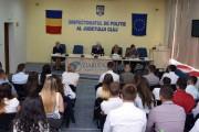 FOTO - 31 de agenți de poliție au fost încadrați azi la IPJ Cluj. Ce urmează