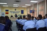 Sâmbătă are loc proba scrisă a concursului de încadrare directă sau reîncadrare ca polițiști