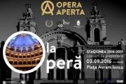 Opera Naţională Română din Cluj-Napoca  revine în stradă!  Concertul de prezentare a Stagiunii 2016-2017