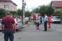 VIDEO - Accident spectaculos pe strada Heltai Gaspar, patru mașini avariate
