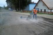 Începe modernizarea și reabilitarea drumului județean 107L Petreştii de Jos – Lita