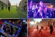 FOTO/VIDEO - Peste 2500 de persoane au participat la The Color Run Night Cluj-Napoca. Cei prezenți au avut parte de o surpriză
