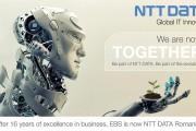 Evoluţia cifrei de afaceri, în creştere cu 40% pentru NTT DATA România