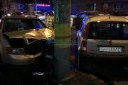 FOTO/VIDEO - Accident grav pe strada Teodor Mihali