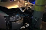 Patru mașini avariate și două persoane rănite, pe Valea Chintăului. Accidentul a avut loc din cauza unui șofer beat