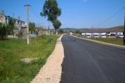 FOTO - S-a finalizat reabilitarea şi modernizarea drumului judeţean DJ 105T Popeşti–Berindu–DN1F