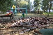 FOTO - Asociație de locatari, sancționată de Poliția Locală pentru depozitare ilegală a deșeurilor