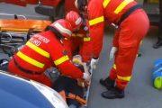 Accident în Grigorescu. Un șofer băut a spulberat cu mașina o femeie