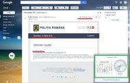 FOTO - Poliția Română se laudă în septembrie cu acțiuni din martie