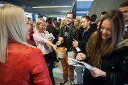 FOTO - Programări contra-cronometru, 10 ore de recrutări intense și peste 2.500 de  IT-iști, la Târgul de Cariere în IT de la Cluj