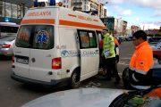 FOTO/VIDEO - Accident pe Calea Mănăștur. Două mașini avariate, o persoană rănită