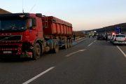 FOTO/VIDEO - Un camion a făcut prăpăd pe centura Vâlcele - Apahida