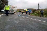 VIDEO - Accident grav în județul Cluj, la Viștea