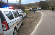 Accident cu două victime pe un drum din Cluj