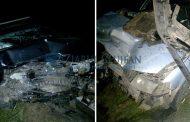 FOTO/VIDEO - Accident grav între Apahida și Corpadea, două persoane încarcerate