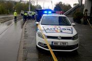 Accident grav la Cluj Arena, 3 răniți. Coliziune între autoturism și tramvai