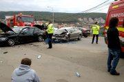 FOTO/VIDEO - Șofer beat, accident grav pe strada Frunzișului - varianta Zorilor-Mănăștur