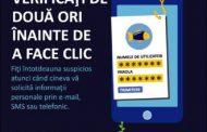 """FOTO - Campanie europeană de informare: """"Verificați de două ori înainte de a face click"""""""