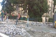 Un nou șantier în centrul Clujului, circulație oprită. Latura vestică a Piaței Unirii intră în modernizare