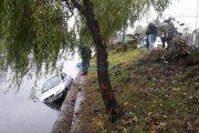 FOTO/VIDEO - Accident la Cluj Arena. O tânără din Hunedoara a zburat cu mașina în Someș