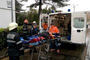 FOTO/VIDEO - Un tânăr de 27 de ani, din Grigorescu, și-a tăiat venele apoi s-a aruncat de la etaj