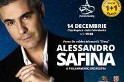 Pe 14 decembrie, tenorul Alessandro Safina va fi acompaniat de  Orchestra Operei Naționale Române din Cluj-Napoca