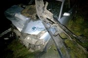 UPDATE - Accident mortal pe Bulevardul Muncii, doi tineri din Răscruci au decedat. Cel de la volan nu avea permis!