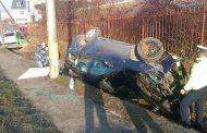FOTO - Două accidente pe strada Frunzișului - varianta Zorilor-Mănăștur