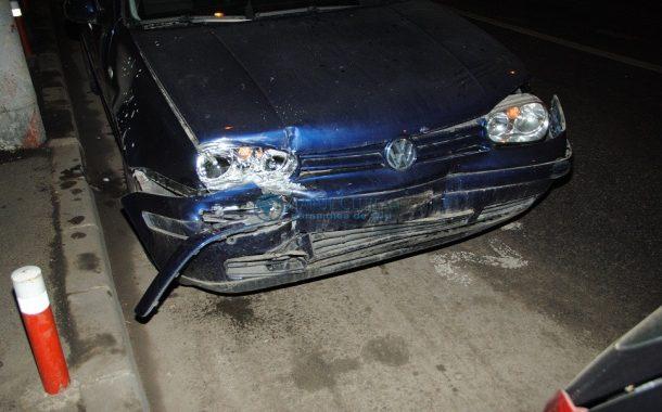 Accident în Baciu, autorul era beat și fără permis de conducere