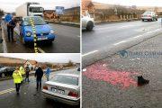 FOTO/VIDEO - Tânără spulberată de mașină pe o trecere de pietoni din Vâlcele. Medicii au resuscitat-o la fața locului - UPDATE - A murit la spital