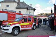 FOTO - Pompierii din Dej au o nouă autospecială pentru intervenţie rapidă