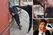 VIDEO - Cine este golănașul care îl lovește pe un bătrân cu piciorul în cap. Avem declarații exclusive de la școala lui