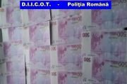 Bani FALȘI pe piața din Cluj, Maramureș și Satu Mare. Procurorii DIICOT au destructurat rețeaua