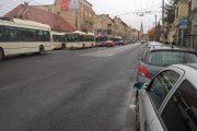 FOTO - Un sălăjean a dat traficul din centrul Clujului peste cap. Acum are dosar penal