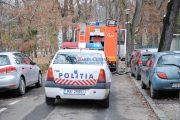FOTO/VIDEO - Incendiu pe strada Cișmigiu din Cluj-Napoca, 9 persoane evacuate