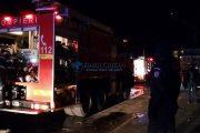 Incendiu la un tren de călători care trecea prin Dezmir