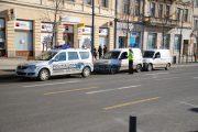 Poliția Locală a dat peste 700 de amenzi pentru parcări neregulamentare în zona centrală