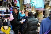 FOTO - Poliția locală, razie în Piața Mărăști. Amenzile au curs pentru neregulile constatate