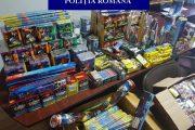 Petarde și artificii confiscate în județul Cluj. Care sunt pocnitorile permise