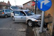 FOTO/VIDEO - Un clujean și-a distrus mașina în prag de Anul Nou, în Florești. Ce a făcut, mai rar