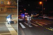 FOTO/VIDEO - Femeie accidentată de mașină, în Mănăștur, pe o trecere de pietoni