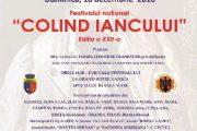 """Festivalul Naţional """"Colind Iancului"""" a ajuns la cea de-a XXII-a ediţie"""