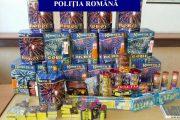 FOTO - 14.000 de articole pirotehnice confiscate de către poliţiştii clujeni