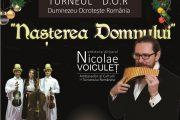 Nu uitați! Luni, Nicolae Voiculeț susține un concert inedit de colinde în Salina Turda